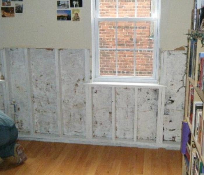 Flint Mold Damage Began with Window Water Damage After