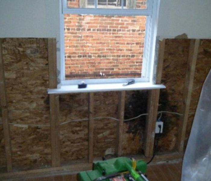 Flint Mold Damage Began with Window Water Damage Before