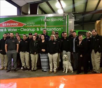 SERVPRO NW Genesee County Crew