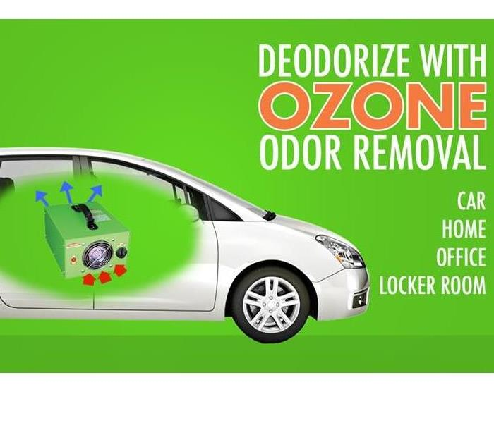 The image shows what ozone odor removal can do for our customers.