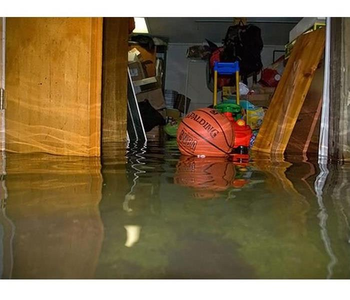 Flooded Basement in Flushing, Michigan