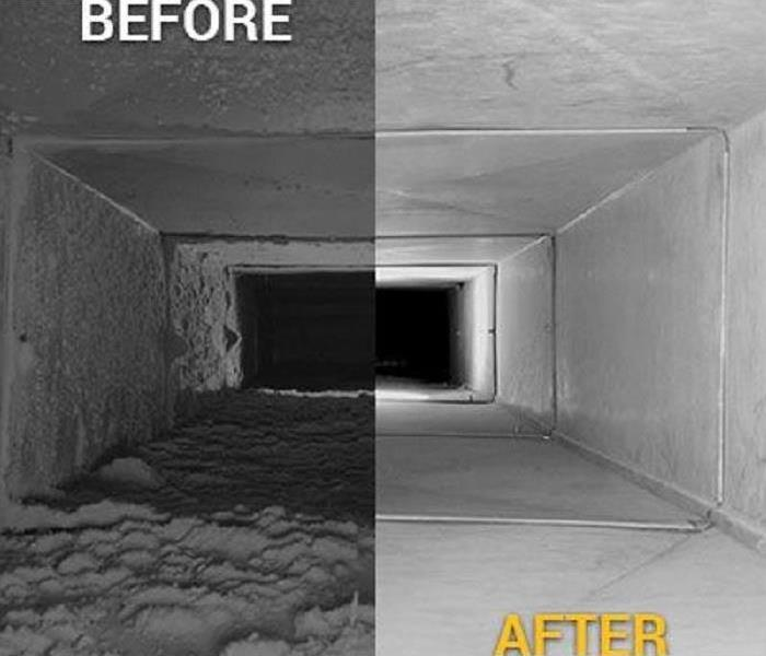 Why SERVPRO SERVPRO of Northwest Genesee County - Our Duct Cleaning Process
