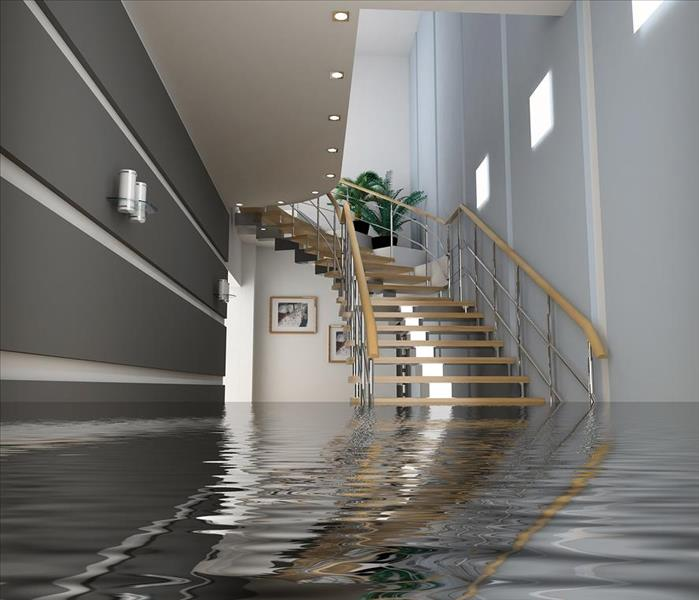 Storm Damage When Storms or Floods hit NW Genesee County, SERVPRO is ready!