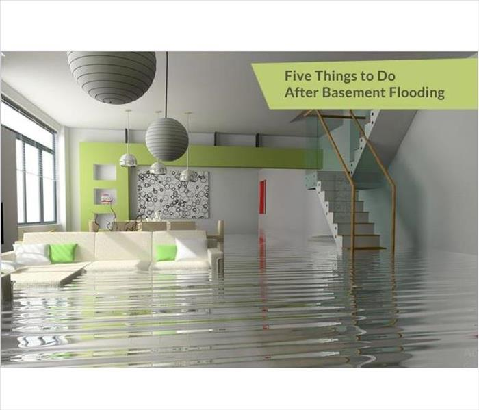 Water Damage 5 Things To Do After A Basement Flooding